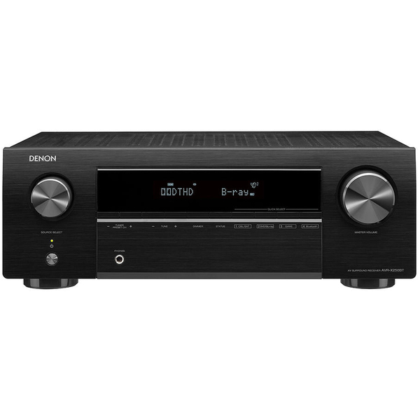 цена на AV ресивер Denon AVR-X250BT Black