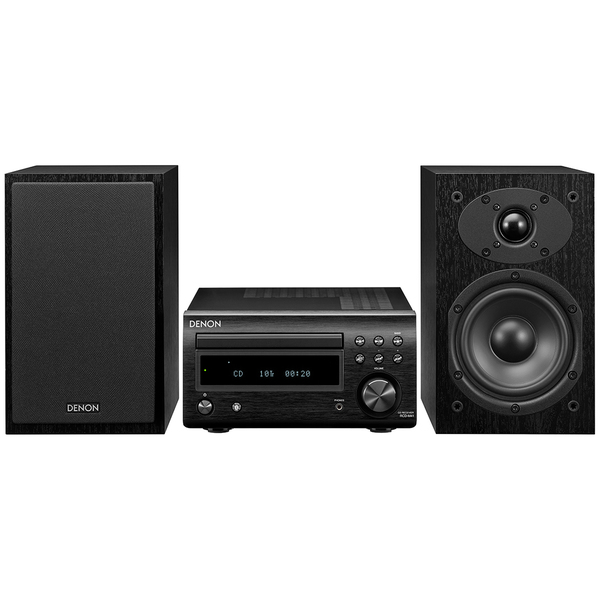 Hi-Fi минисистема Denon D-M41 Black/Black cd ресивер denon rcd m41 silver