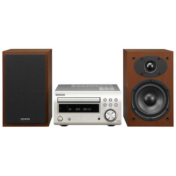 Hi-Fi минисистема Denon D-M41 Silver/Cherry cd ресивер denon rcd m41 silver