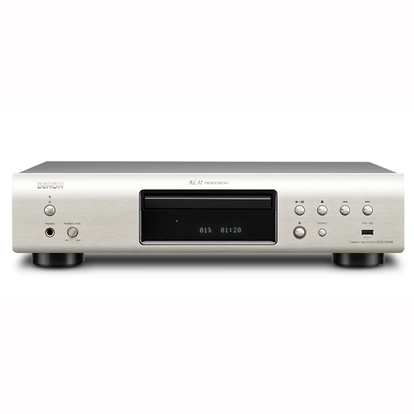 CD проигрыватель Denon DCD-720AE Silver проигрыватель виниловых дисков denon dp 400