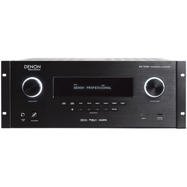 AV ресивер Denon DN-700AV Black медиаплеер denon dn f300e2