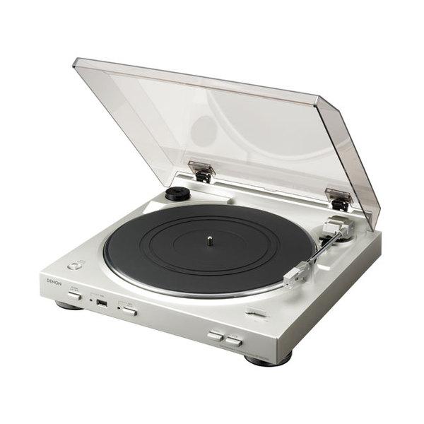 Виниловый проигрыватель Denon DP-200USB Silver проигрыватель виниловых дисков denon dp 400