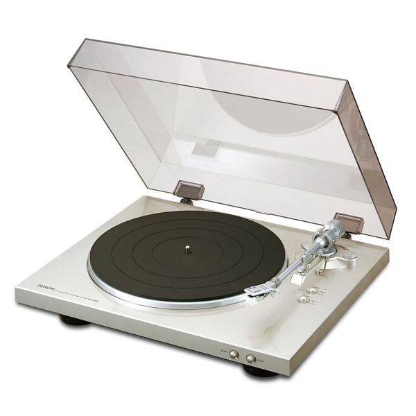 Виниловый проигрыватель Denon DP-300F Silver проигрыватель виниловых дисков denon dp 400