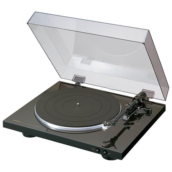 Виниловый проигрыватель Denon DP-300F Black проигрыватель виниловых дисков denon dp 400