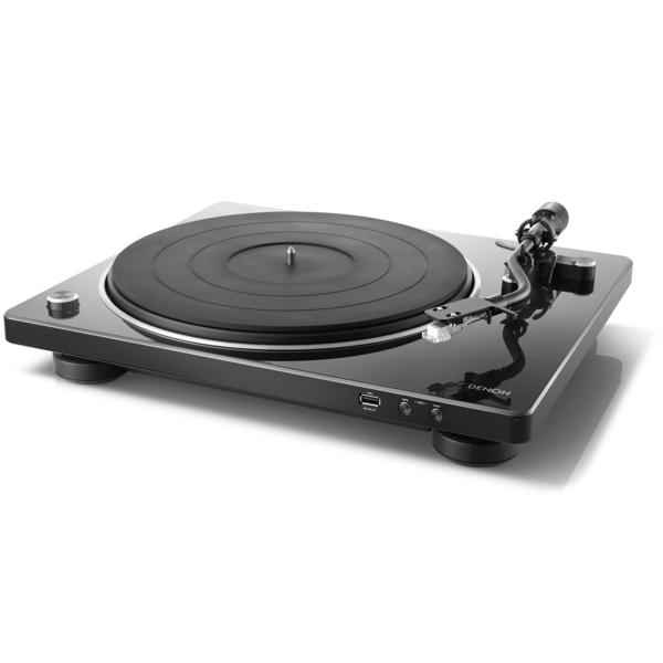 Виниловый проигрыватель Denon DP-450USB Black проигрыватель виниловых дисков denon dp 400