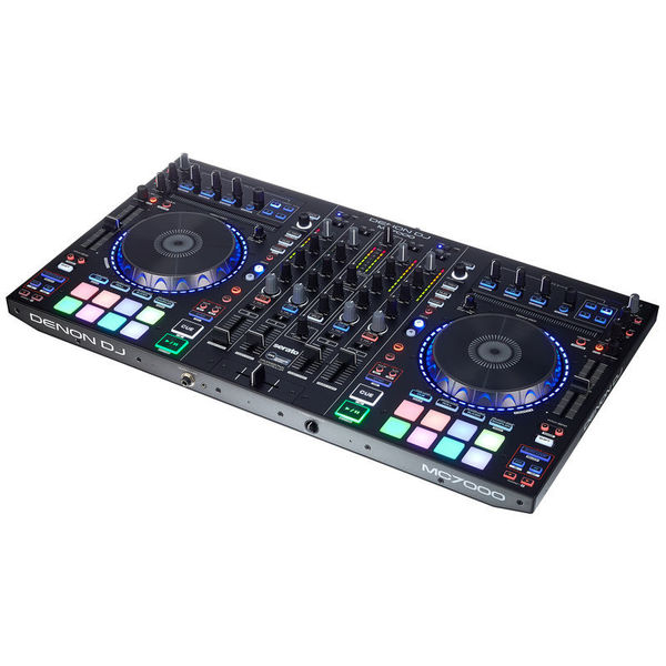DJ контроллер Denon MC7000 midi dj контроллер samson graphite md13
