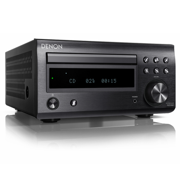 CD ресивер Denon RCD-M41 Black cd ресивер denon rcd m41 silver