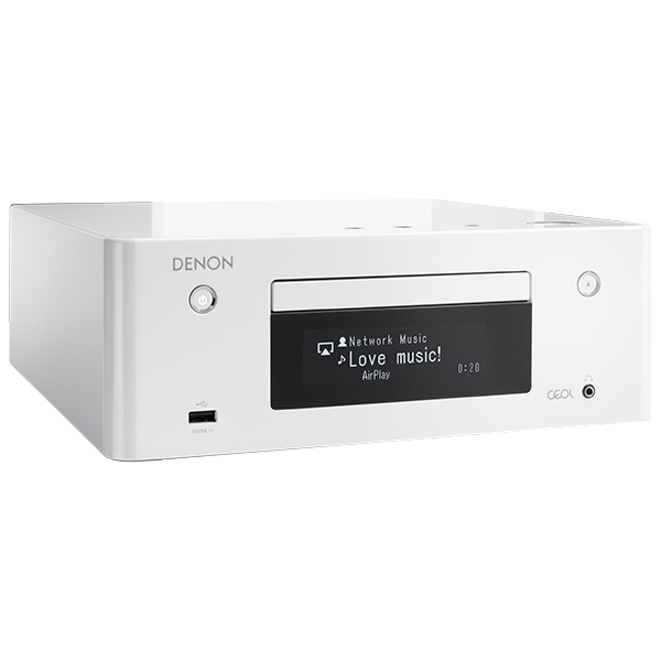 CD ресивер Denon RCD-N9 White cd ресивер denon rcd m41 silver