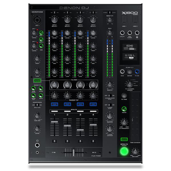 DJ микшерный пульт Denon X1800 Prime приемник futaba 4 канальный r2004gf 2 fhss sport 2 4g для передатчиков futaba 3plg futaba 4plg и futaba