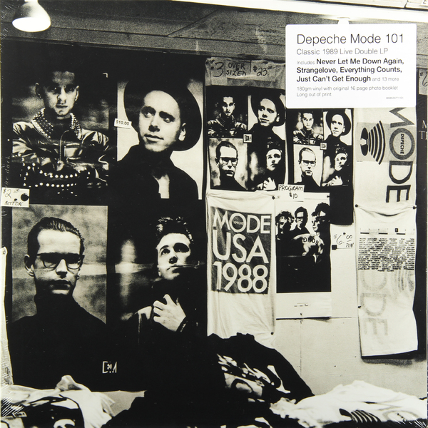 Depeche Mode Depeche Mode - 101 - Live (2 Lp, 180 Gr) depeche mode depeche mode the best of depeche mode volume 1 3 lp