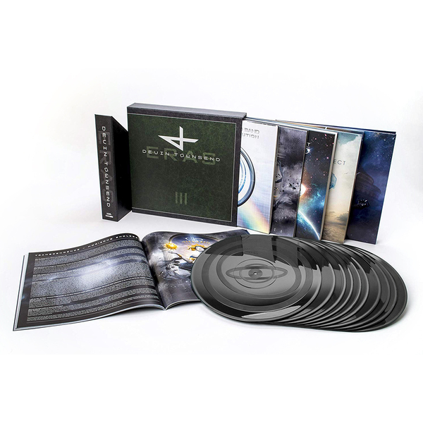 цена Devin Townsend Project Devin Townsend Project - Eras – Vinyl Collection Part Iii (10 Lp, 180 Gr)