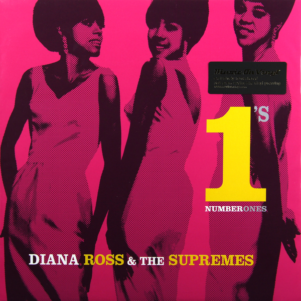 Diana Ross Diana Ross And The Supremes - No 1s (2 LP) the supremes the supremes playlist plus 3 cd