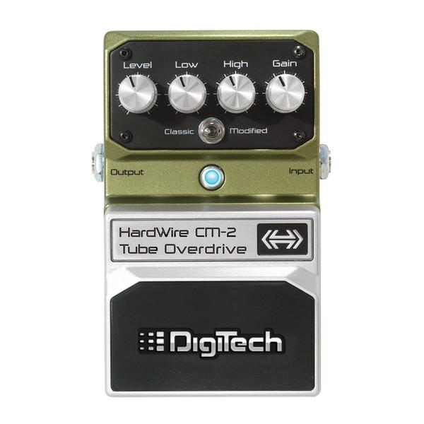 Педаль эффектов Digitech CM-2 Tube Overdrive педаль overdrive и distortion ampeg scrambler bass overdrive