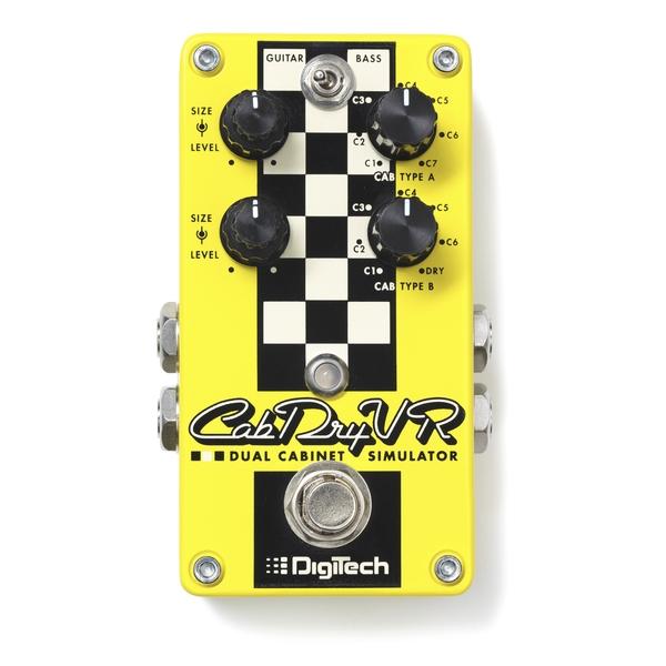 Педаль эффектов Digitech CabDryVR кейс для гитарных эффектов и кабинетов thon case roland gr 55