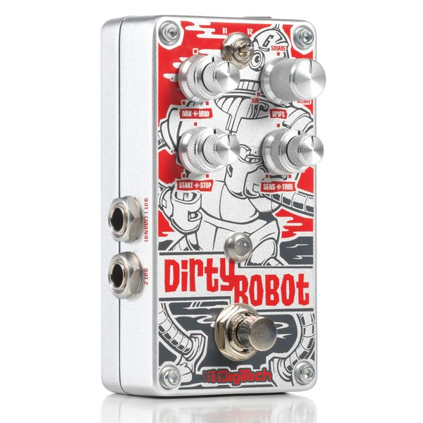 Педаль эффектов Digitech Dirty Robot педаль эффектов digitech dod rubberneck