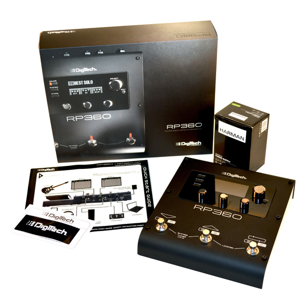 Гитарный процессор Digitech от Audiomania