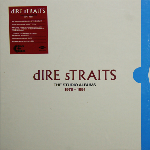 Dire Straits - The Studio Albums 1978-1991 (8 Lp, 180 Gr)