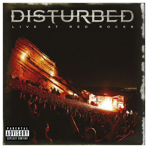 Disturbed Disturbed - Live At Red Rocks (2 LP) alt j alt j live at red rocks cd dvd blu ray