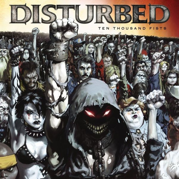 Disturbed Disturbed - Ten Thousand Fists (2 LP) disturbed disturbed live at red rocks 2 lp