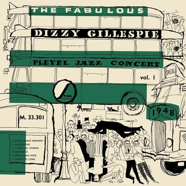 Dizzy Gillespie Dizzy Gillespie - Pleyel Jazz Concert 1948 (colour) автомобильное зеркало cool dizzy 4 3