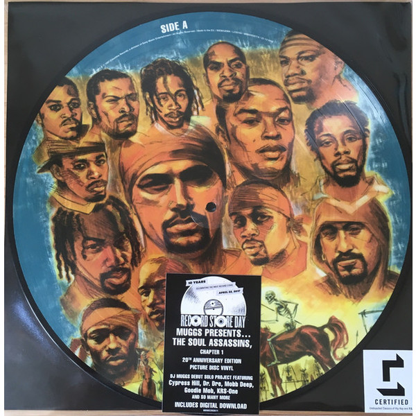 Фото - Dj Muggs Dj Muggs - The Soul Assassins Chapter 1 (picture Disc) футболка print bar dj muggs
