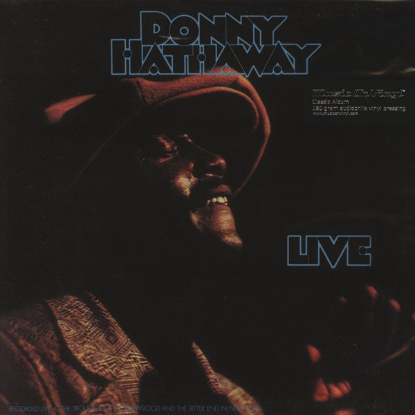 Donny Hathaway Donny Hathaway - Live (180 Gr) pair of faux gem flower earrings