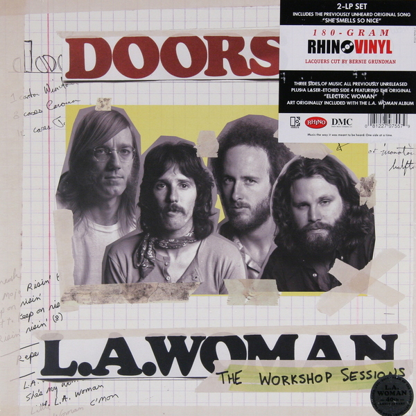 The Doors The Doors - La Woman (the Workshop Sessions) (2 Lp, 180 Gr) the doors the doors l a woman 40th anniversary edition