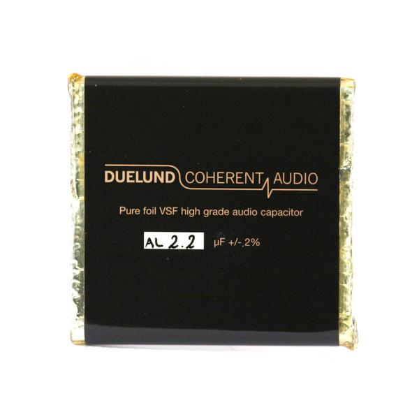 Конденсатор Duelund VSF 100 V 2.2 uF aluminium конденсатор duelund vsf 100 v 33 uf aluminium