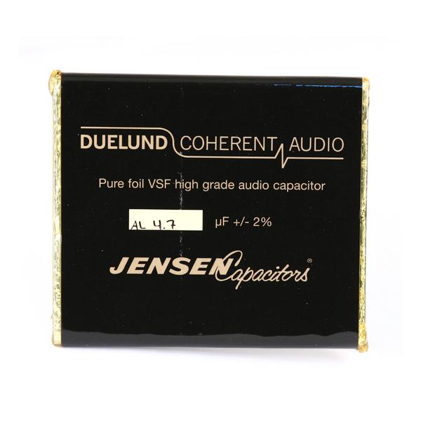 Конденсатор Duelund VSF 100 V 4.7 uF aluminium конденсатор duelund vsf 100 v 33 uf aluminium