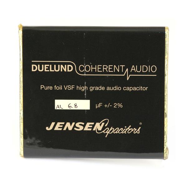 Конденсатор Duelund VSF 100 V 6.8 uF aluminium конденсатор duelund vsf 100 v 33 uf aluminium