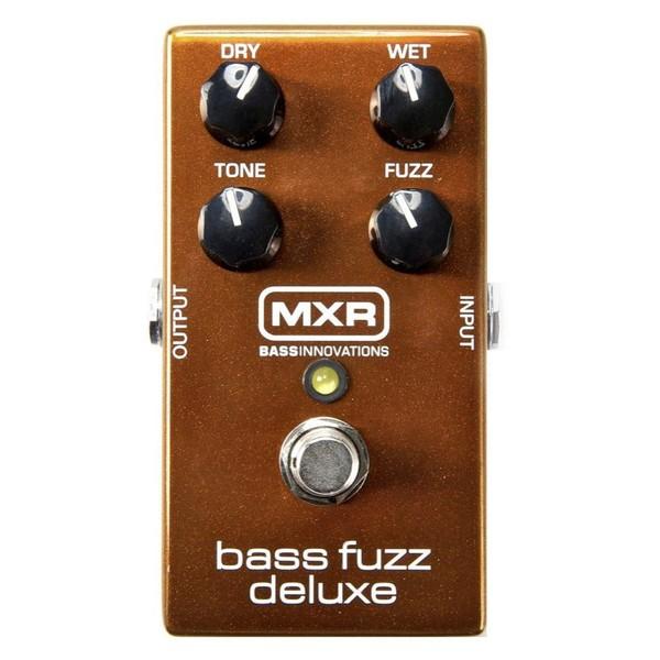 Педаль эффектов Dunlop MXR Bass Fuzz Deluxe M84