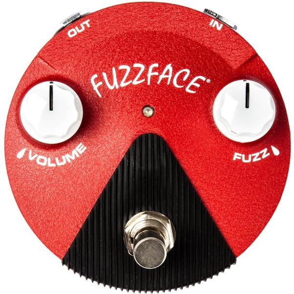 Педаль эффектов Dunlop Fuzz Face Mini Distortion FFM6