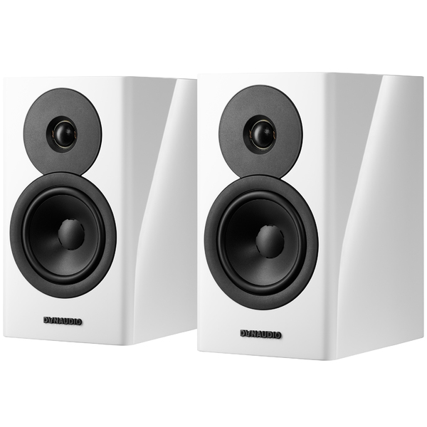 Полочная акустика Dynaudio Evoke 10 White High Gloss triangle quatuor high gloss bubinga