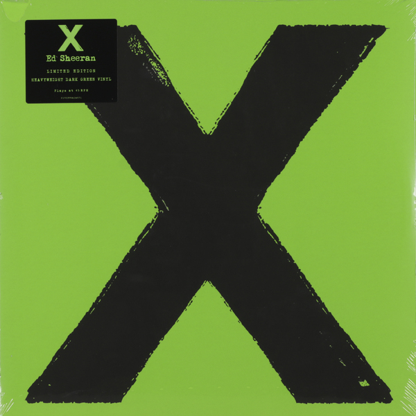 Ed Sheeran Ed Sheeran - X (2 Lp, Colour) мужские часы platinor монарх 57850 pla57850