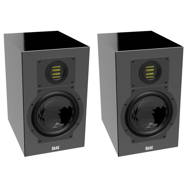 Полочная акустика ELAC BS 244.3 High Gloss Black встраиваемый светильник eglo peneto 94264
