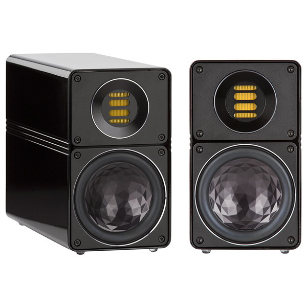 Полочная акустика ELAC BS 312 High Gloss Black колонки acoustic energy compact one gloss black