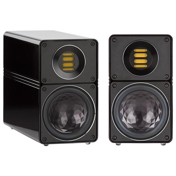 Полочная акустика ELAC BS 312 High Gloss Black (уценённый товар)