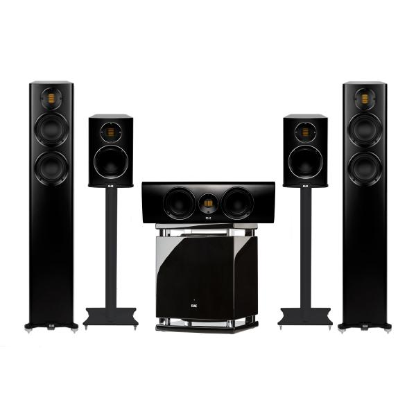 Комплект акустики ELAC 5.1 Carina Satin Black