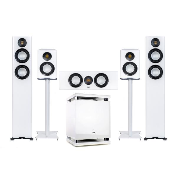 Комплект акустики ELAC 5.1 Carina Satin White