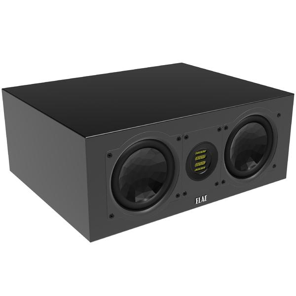 Центральный громкоговоритель ELAC CC 241.3 High Gloss Black акустика центрального канала paradigm studio cc 690 v 5 piano black