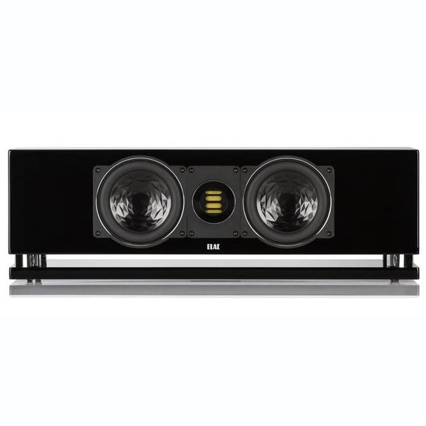Центральный громкоговоритель ELAC CC 400 High Gloss Black акустика центрального канала piega classic center large macassar high gloss