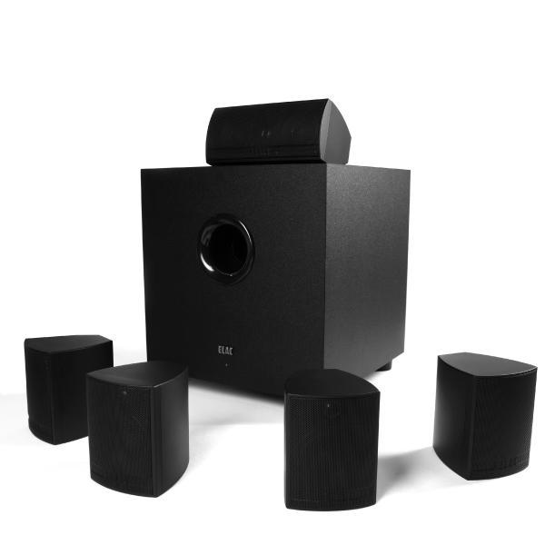 Комплект акустики 5.1 / 7.1 ELAC Cinema 5 Black