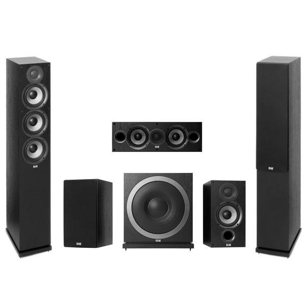 Комплект акустики ELAC 5.1 Debut 3010 Black комплект акустики skysound colibri ssc 65 6