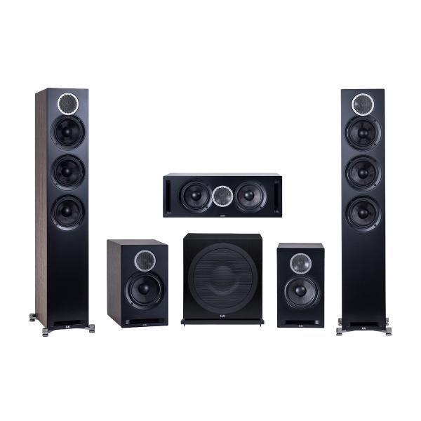 Комплект акустики ELAC 5.1 Debut Reference Black