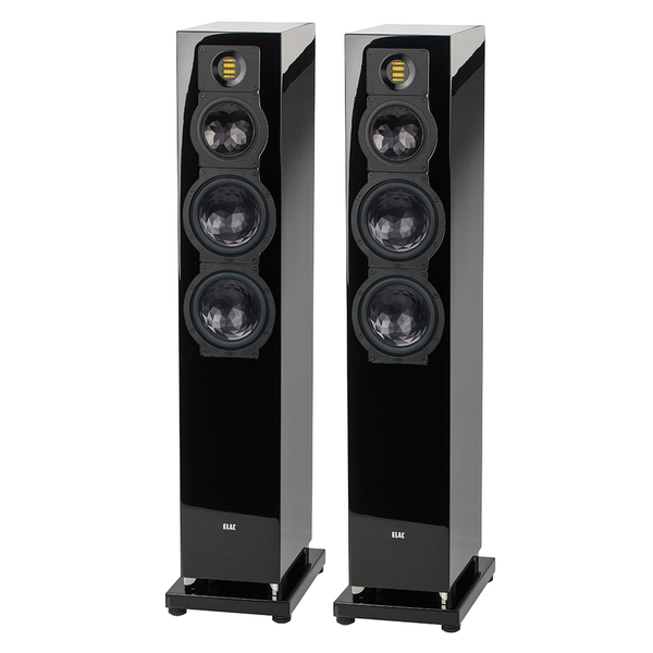 Напольная акустика ELAC FS 249.3 High Gloss Black акустика центрального канала piega classic center large macassar high gloss