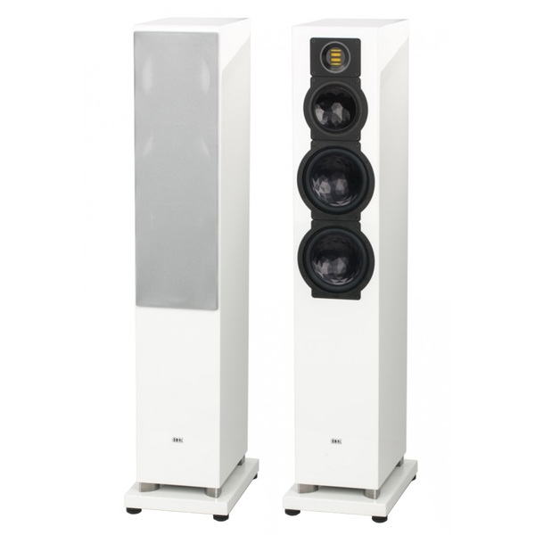 Напольная акустика ELAC FS 249.3 High Gloss White акустика центрального канала piega classic center large macassar high gloss