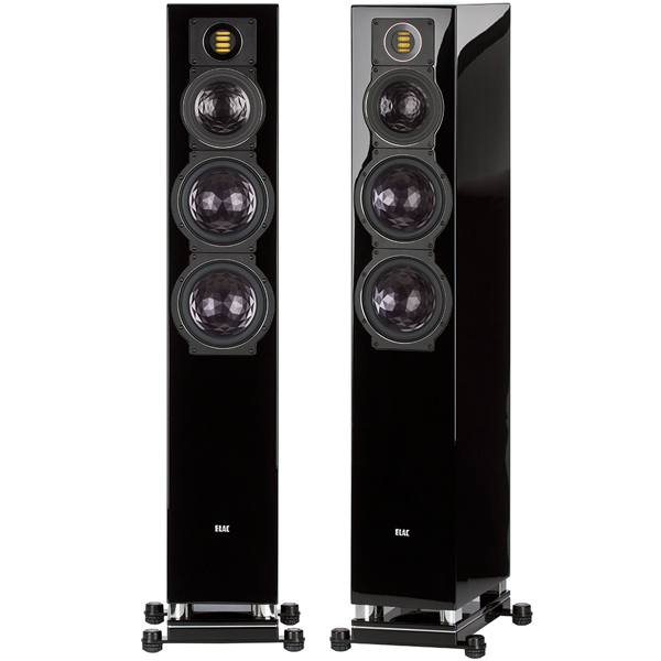 Напольная акустика ELAC FS 409 High Gloss Black центральный канал canton cd 1050 black high gloss