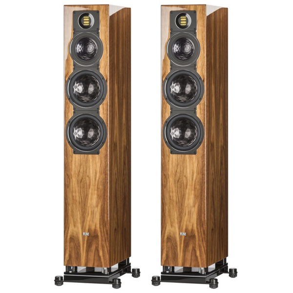 Активная напольная акустика ELAC Air-X 409 High Gloss Walnut акустика центрального канала piega classic center large macassar high gloss