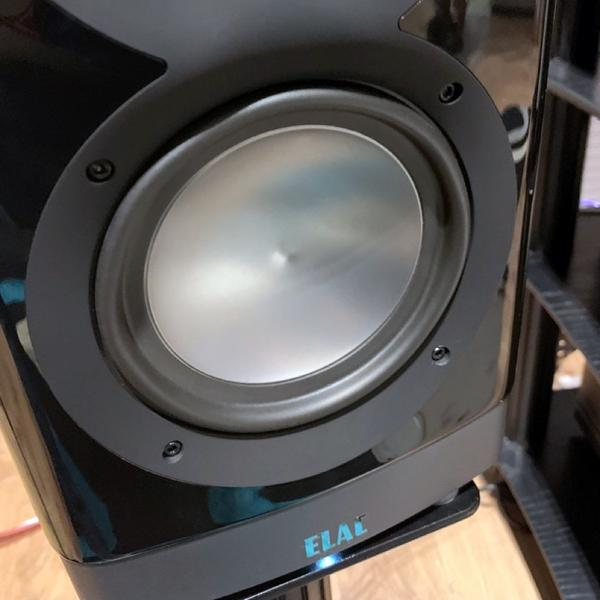 Активная полочная акустика ELAC Navis ARB-51 High Gloss Black (уценённый товар)