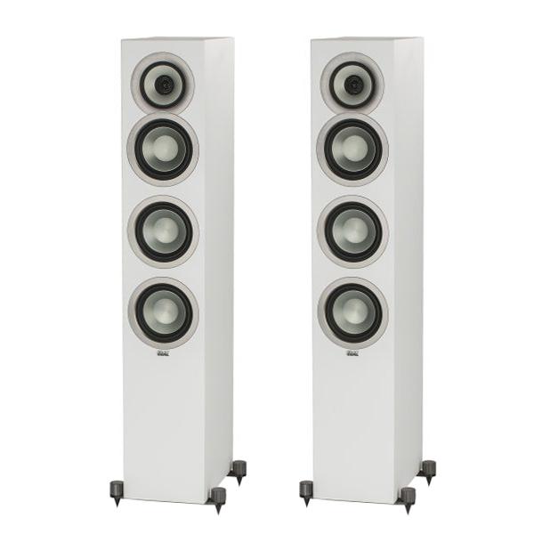 Напольная акустика ELAC Uni-Fi FS U5 Slim Satin White комплекты акустики pult ru elementa set 5 0 white satin